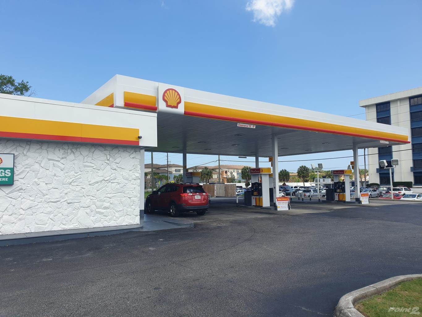 Commercial à vendre en Branded High Volume Gas Station For Sale in Tampa Bay Florida USA, Trinity, Floride ,34691  , États-Unis