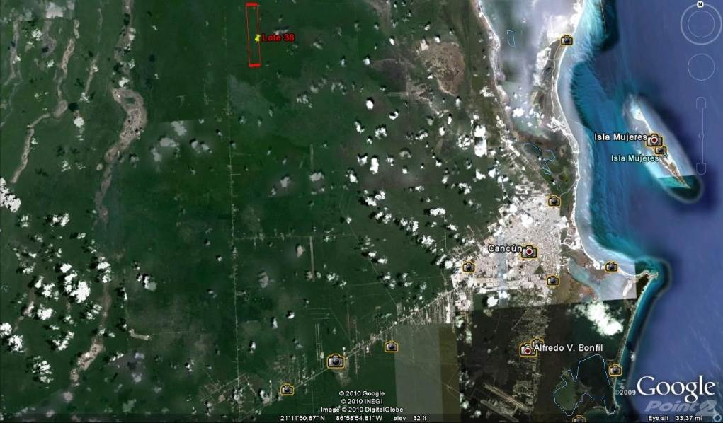 Résidentiel à vendre en COMMERCIAL LAND FOR SALE WITH AUTHORIZED PROYECT IN ISLA MUJERES 474 HECTARES, Isla Mujeres, Quintana Roo   , Mexique