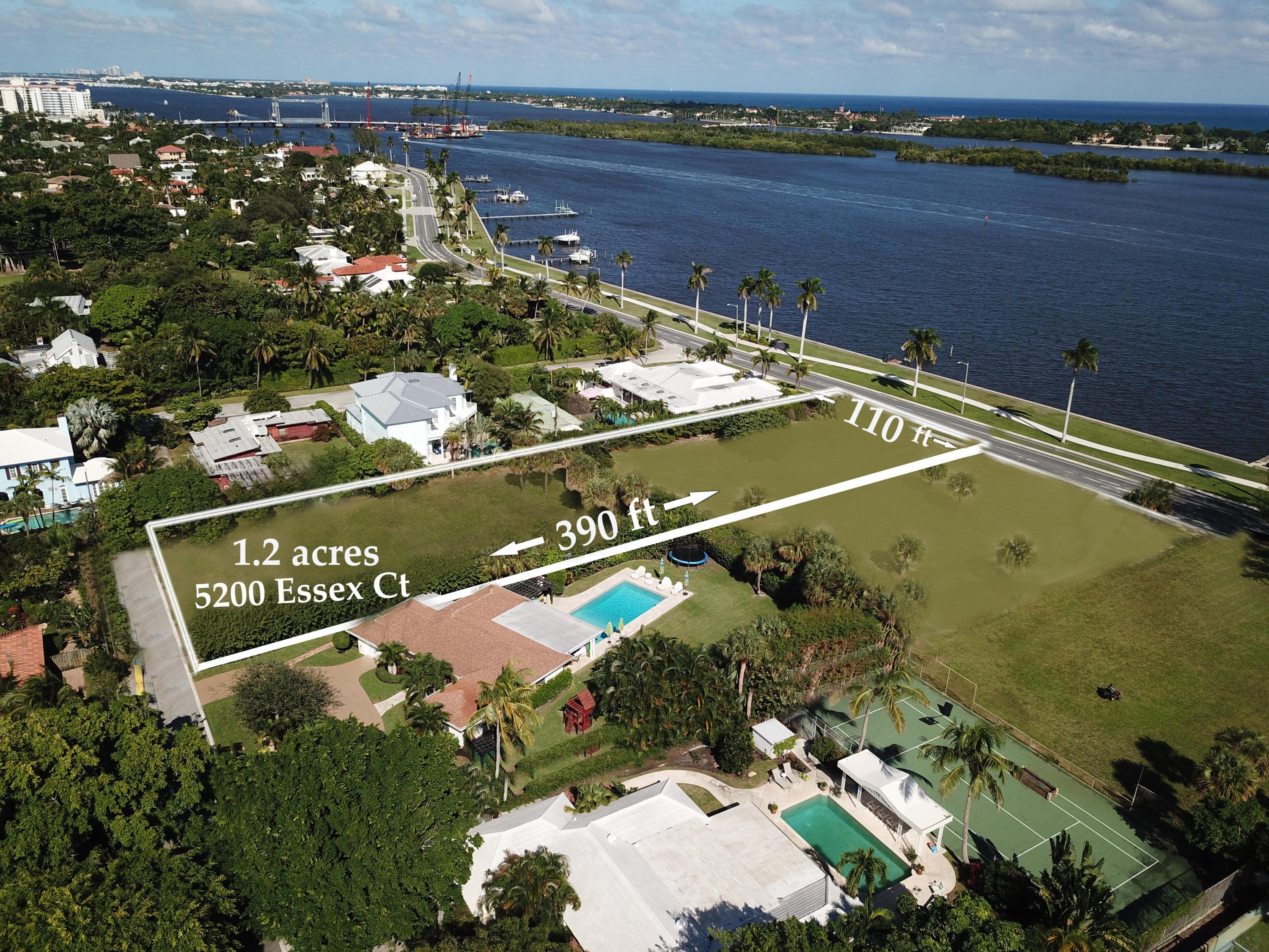 Maison individuelle à vendre en 5200 Essex Court, West Palm Beach, Floride ,33405  , États-Unis